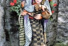 Fotografia di un personaggio dell'Itinerario dei Celti creato da Paolo Boncompagni.
